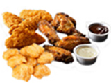 Chicken Combo Meal image